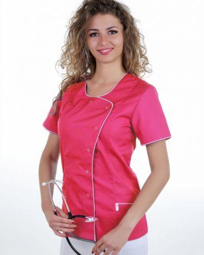 perlicka_zdravotnickabluzka_ELIZABETHFAREBNA_cyklamen-biela_683x1024