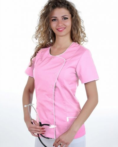 perlicka_zdravotnickabluzka_ELIZABETHFAREBNA_ruzova-biela_683x1024